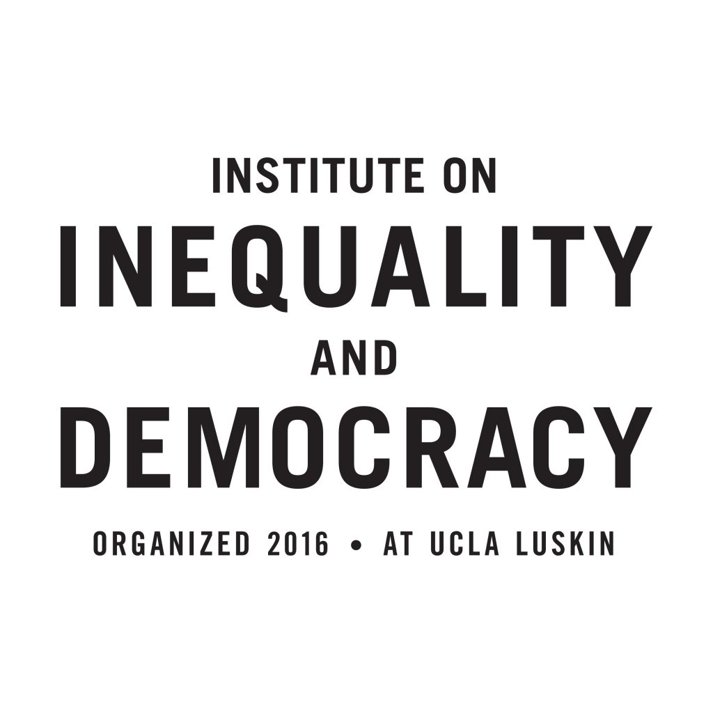 Institute on Inequality and Democracy logo