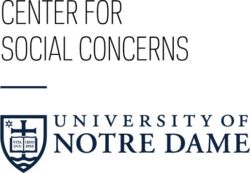 The Center for Social Concerns, University of Notre Dame logo